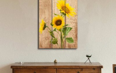 5 Rustic Flower Wall Decor Examples That Will Make You Jealous