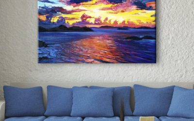 8 Ocean Sunset Paintings That Will Make Your Room Beautiful