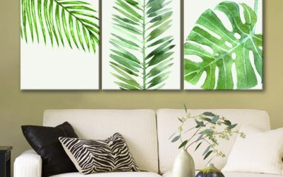 6 Leaf Themed Living Room Examples You Need To See