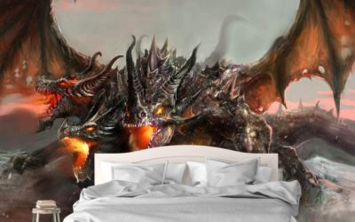6 Dragon Room Decor Styles That Will Make Your Room Cool