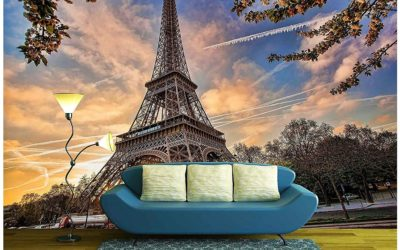 5 Eiffel Tower Wall Mural Facts You Won't Believe!