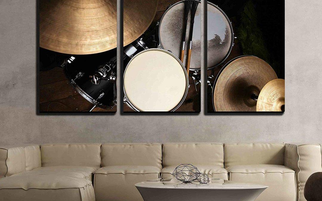 drum wall art
