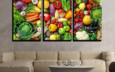 10 Fruit & Vegetable Wall Art Facts Your Body Will Appreciate!
